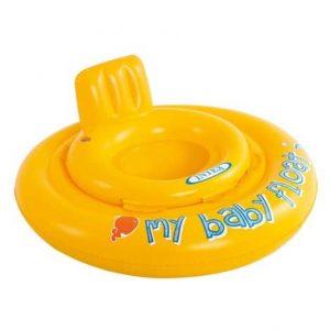 """Bóia Insuflável para Bebé """"Baby Float"""" Amarela INTEX #56585"""