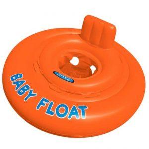 "Bóia Insuflável para Bebé ""Baby Float"" Laranja INTEX #56588"