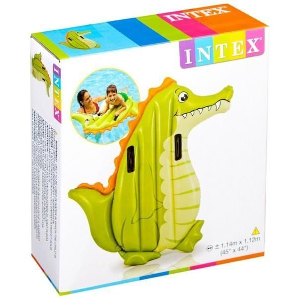 Colchão Insuflável Formato Crocodilo INTEX #58151