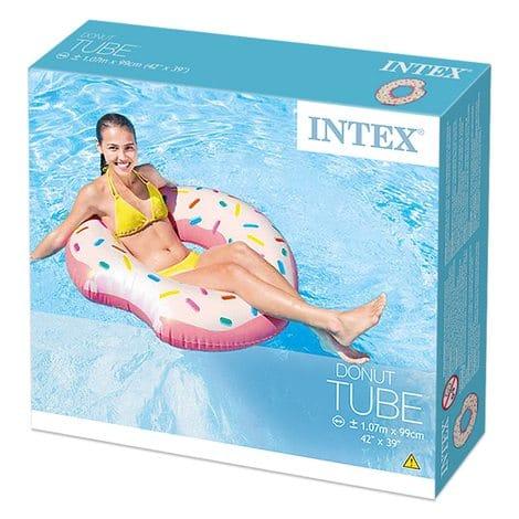 Boia Donut Cor-de-Rosa Intex #56265