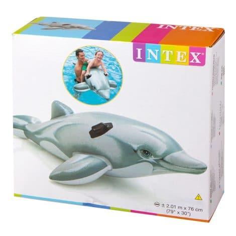 Golfinho Grande Insuflável Intex #58539