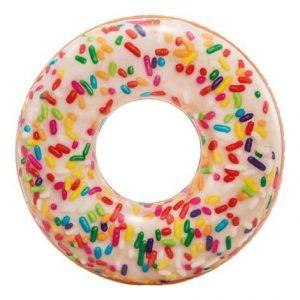 óia Donut Branco insuflável Intex #56263
