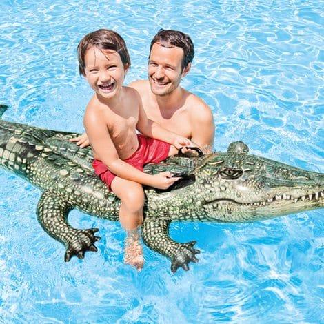 Crocodilo Realista Insuflável Intex #57551