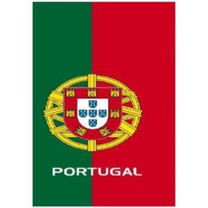 Toalha de Praia Microfibra Bandeira de Portugal 180 x 100 cm