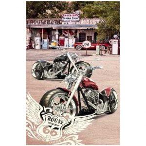 Toalha de Praia Microfibra Mota Harley Davidson 180 x 100 cm