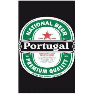 Toalha de Praia Microfibra Heineken Portugal 180 x 100 cm