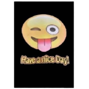 "Toalha de Praia Microfibra Smile ""Have a Nice Day"" 180 x 100 cm"