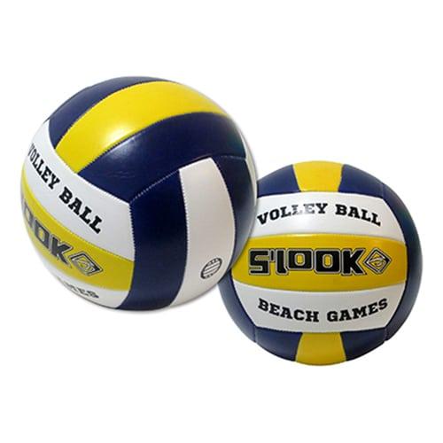 """Bola Volley """"Soft"""" Amarela-Azul"""
