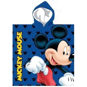 Poncho de Praia Criança Poliéster Mickey 55 x 55 cm - Frente