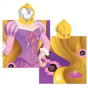 Princess Child Beach Polyester Poncho 55 x 55 cm