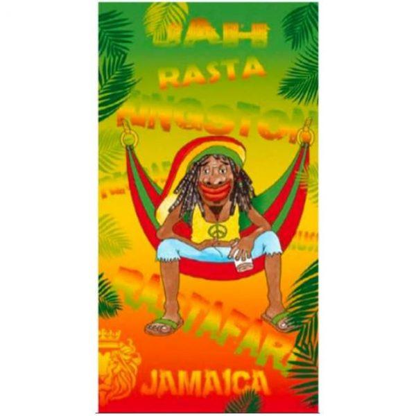 Toalha de Praia Microfibra Jamaica 180 x 100 cm