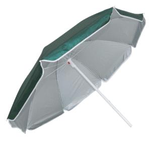 Guarda-Sol Poliéster Proteção UV 1,60 m Verde Escuro