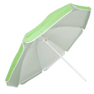 Guarda-Sol Poliéster Proteção UV 1,60 m Verde Claro