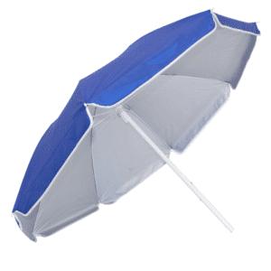 Guarda-Sol Poliéster Proteção UV 1,60 m Azul Escuro