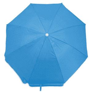 Guarda-Sol Poliéster Proteção UV 1,60 m Azul Claro