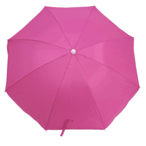 Guarda-Sol Poliéster Proteção UV 1,60 m Rosa