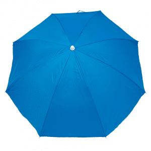 Guarda-Sol Poliéster Proteção UV 1,76 m Azul Claro