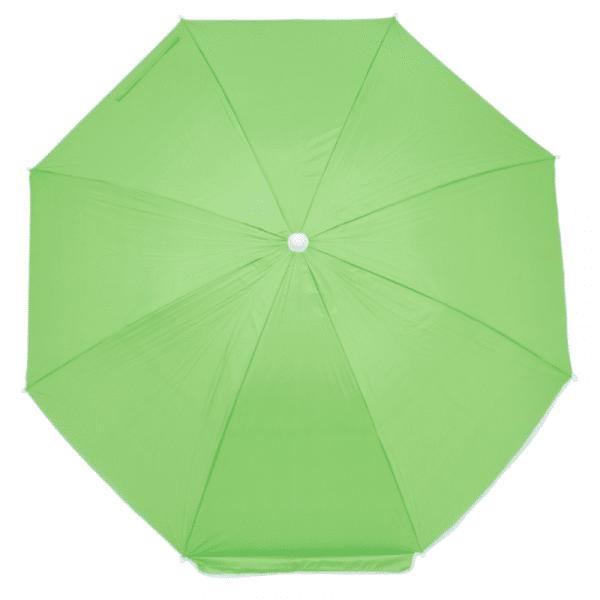 Guarda-Sol Poliéster Proteção UV 1,76 m Verde Claro