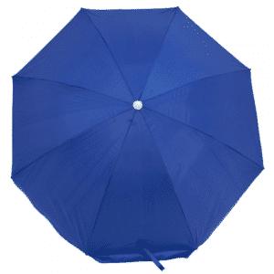 Guarda-Sol Poliéster Proteção UV 1,76 m Azulão