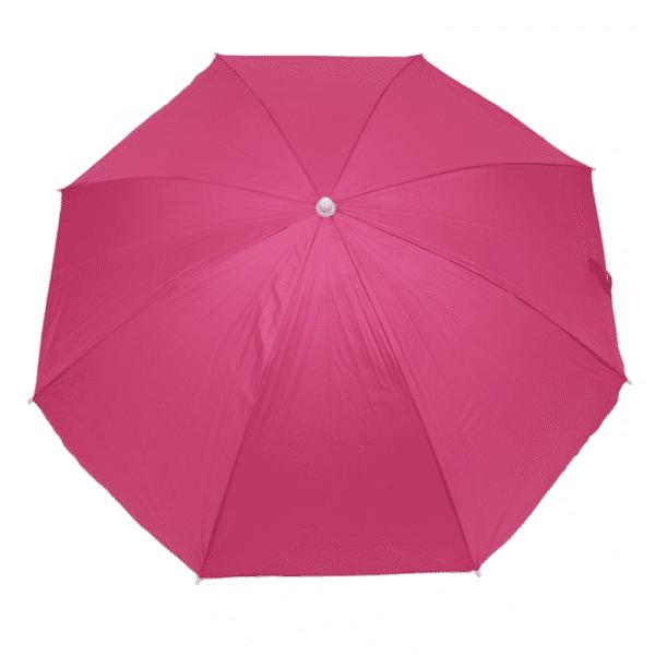 Guarda-Sol Poliéster Proteção UV 1,76 m Rosa