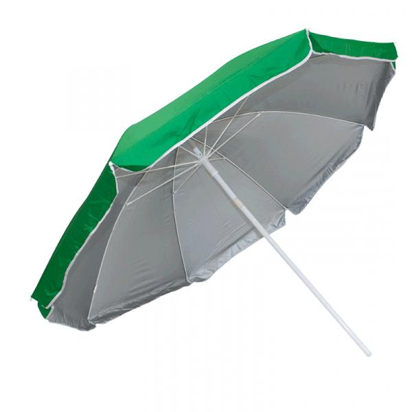 Guarda-Sol Poliéster Proteção UV 1,76 m Resistente Verde Escuro