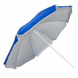 Guarda-Sol Poliéster Proteção UV 1,76 m Resistente Azul Escuro