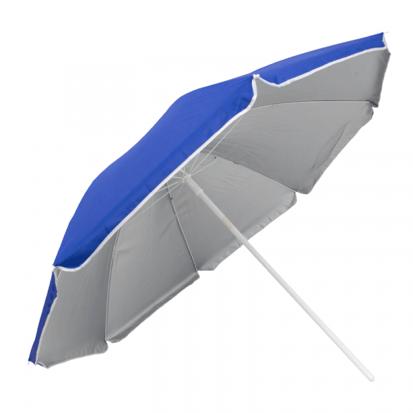Guarda-Sol Poliéster Proteção UV 1,76 m Resistente Azulão
