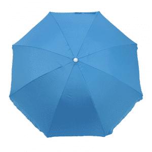 Guarda-Sol Poliéster Proteção UV 1,76 m Resistente Azulo Claro