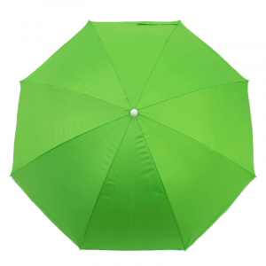 Guarda-Sol Poliéster Proteção UV 1,76 m Resistente Verde Claro