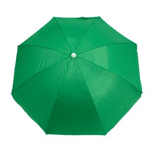 Guarda-Sol Poliéster Proteção UV 1,60 m Verde