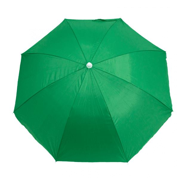 Guarda-Sol Poliéster Proteção UV 1,76 m Verde Escuro