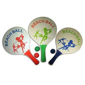 """Raquetes de Praia Clássicas """"Beach Ball"""""""