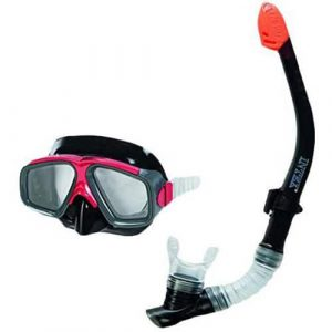 Kit Mergulho Havai (Óculos + Tubo) Intex Aquaflow Sport #55949