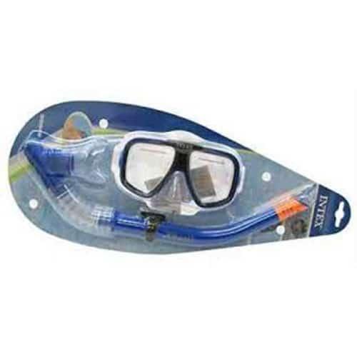 Kit Mergulho Recife (Óculos + Tubo) Intex Aquaflow Sport #55948