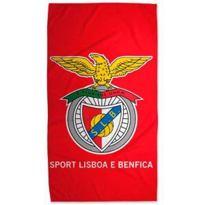 Toalha de Praia Microfibra Licenciada SL Benfica 180 x 100 cm