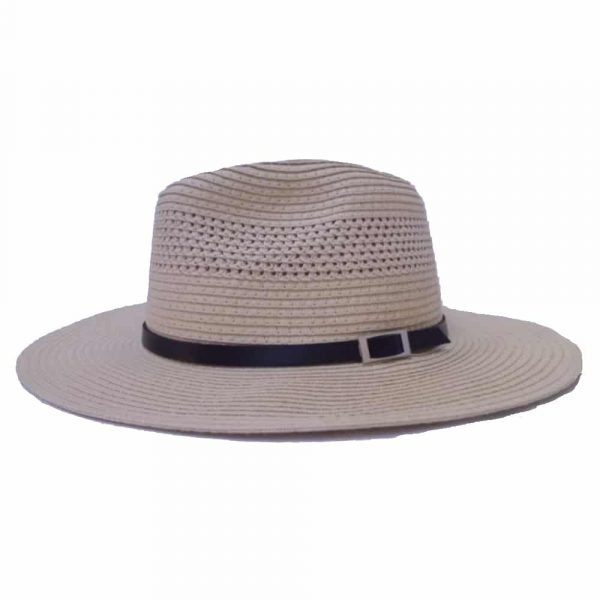 Man Hat With Flat Brim