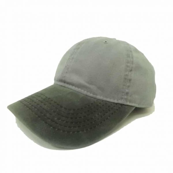 Jeans Cap with Different Color Flap