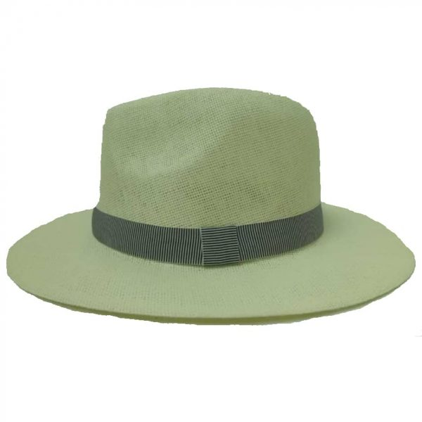Men's Hat Right-Brimmed with Braided Ribbon