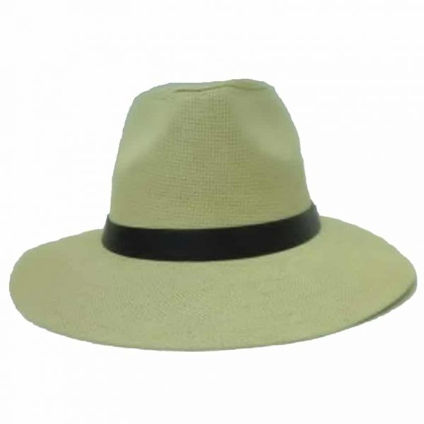 Men's Hat Flat Brim and PVC Ribbon