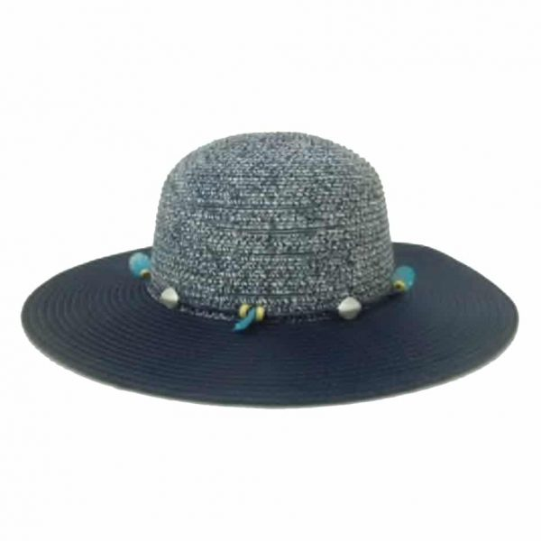 Women's Capline with Tinted Cup and Beaded Thread