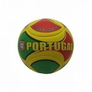 """Bola Pequena de Praia """"Soft"""" Portugal com Gumos de Futebol"""