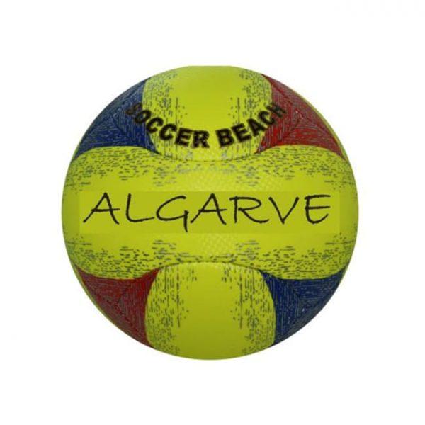 "Bola de Praia Pequena ""Soft"" Cruz Tricolor Algarve 1"
