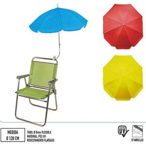Guarda-Sol para Cadeira de Praia 120 cm diâmetro