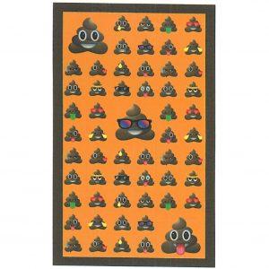Toalha de Praia Microfibra Emoji cocó 180 x 100 cm