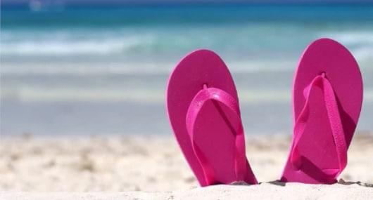 Casa de Praia - Chinelos de Praia