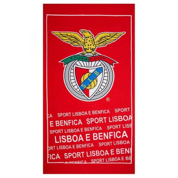 Toalha Praia Microfibra Sport Lisboa e Benfica SLB