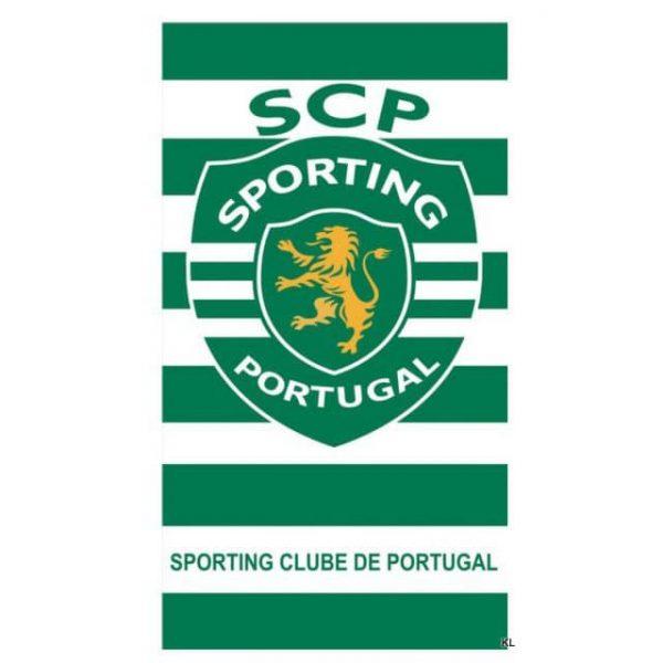Toalha de Praia Microfibra Sporting Clube de Portugal SCP