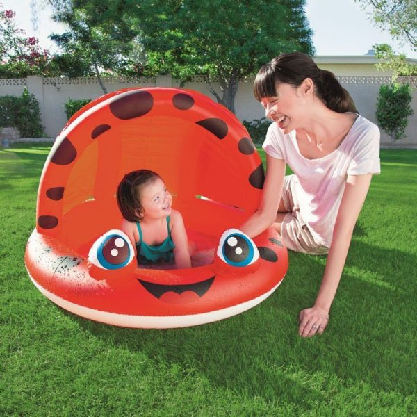 Bestway Ladybug Inflatable Swimming Pool with Roof 97 cm