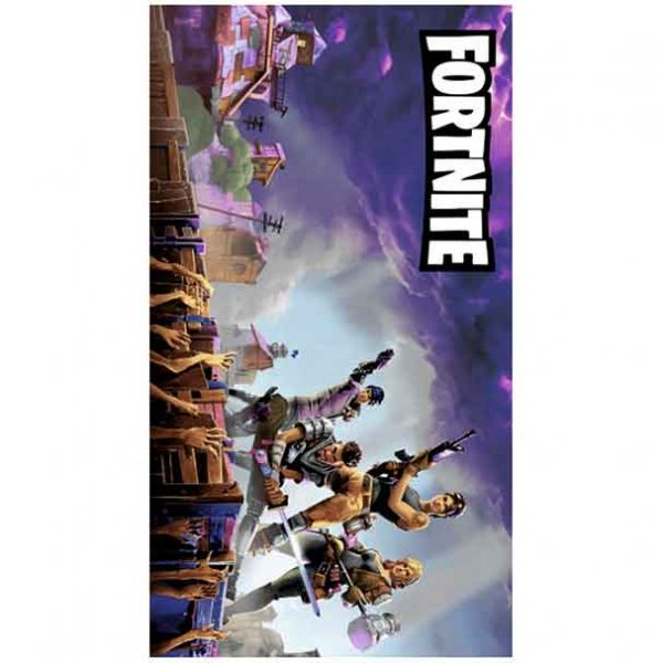 Colorful Fortnite Microfiber Beach Towel