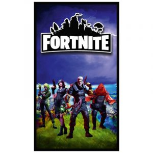 Landscape Background Fortnite Microfiber Beach Towel